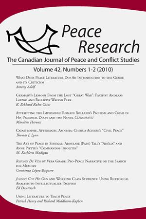 Volume 42, Numbers 1-2 (2010)