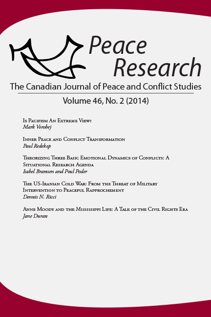 Peace Research 46-2 (2014)