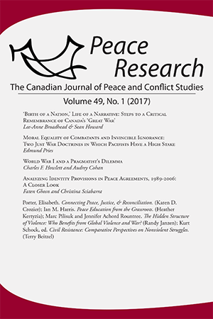 Peace Research 49-1 (2017)