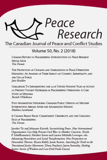 Peace Research 50-2 (2018)