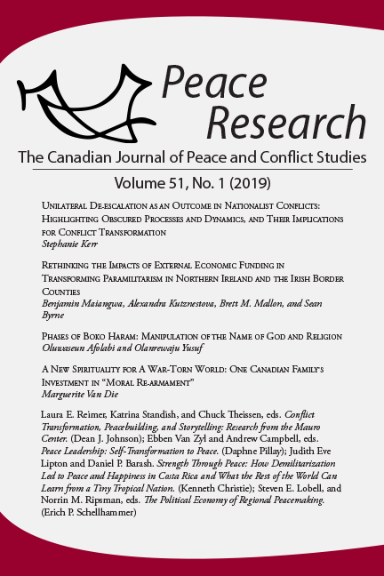 Peace Research 51-1 (2019)