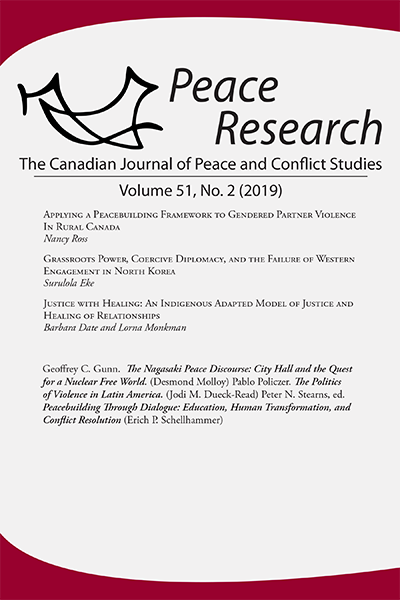 Peace Research 51-2 (2019)