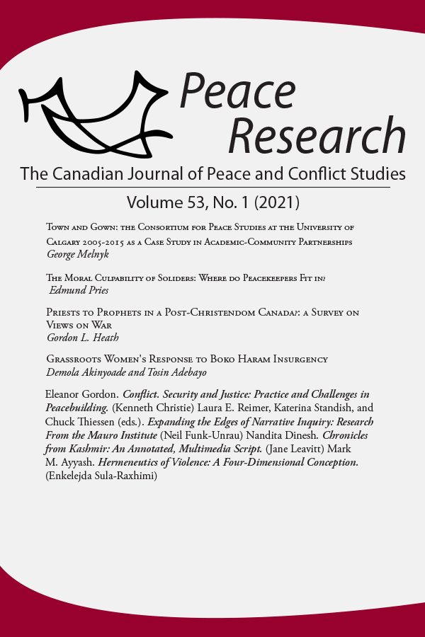 Peace Research 53-1 (2021)